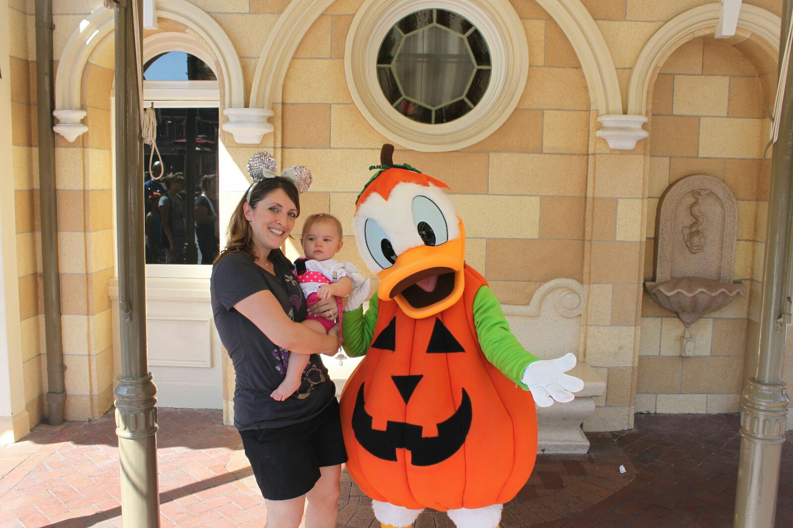 olivia and mom with donald.jpg