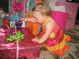 1st Birthday Party- June 6, 2009