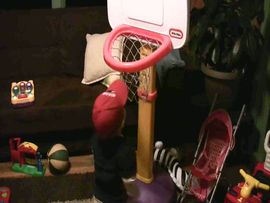 Andrew Shooting Hoops