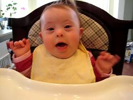More Excitement in my highchair