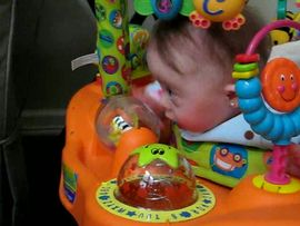More ExerSaucer Play!